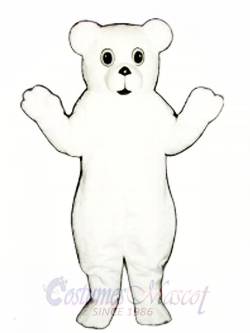 Snow Cub Mascot Costume