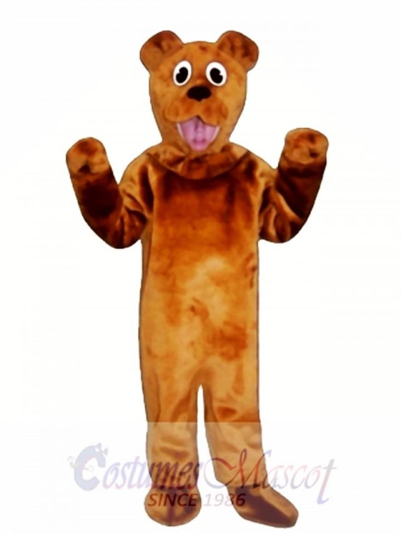 Cute Bear Mascot Costume