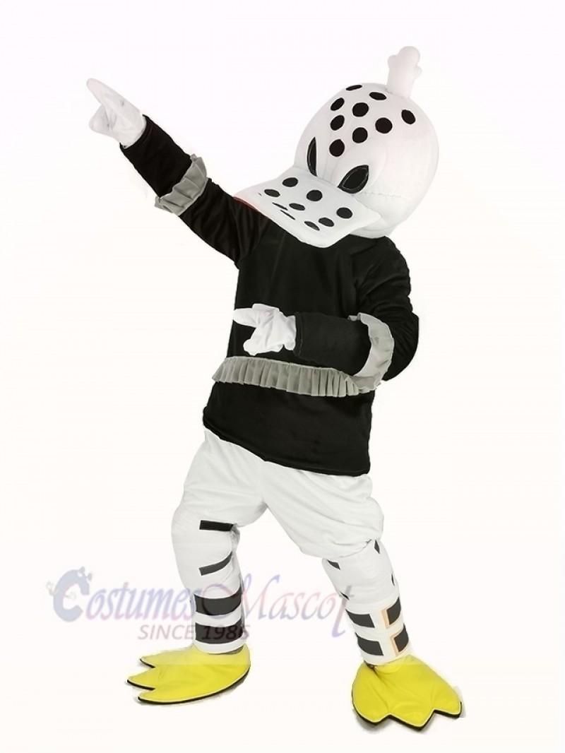 Wild Wing Duck Mascot Costume Ice Hockey Player