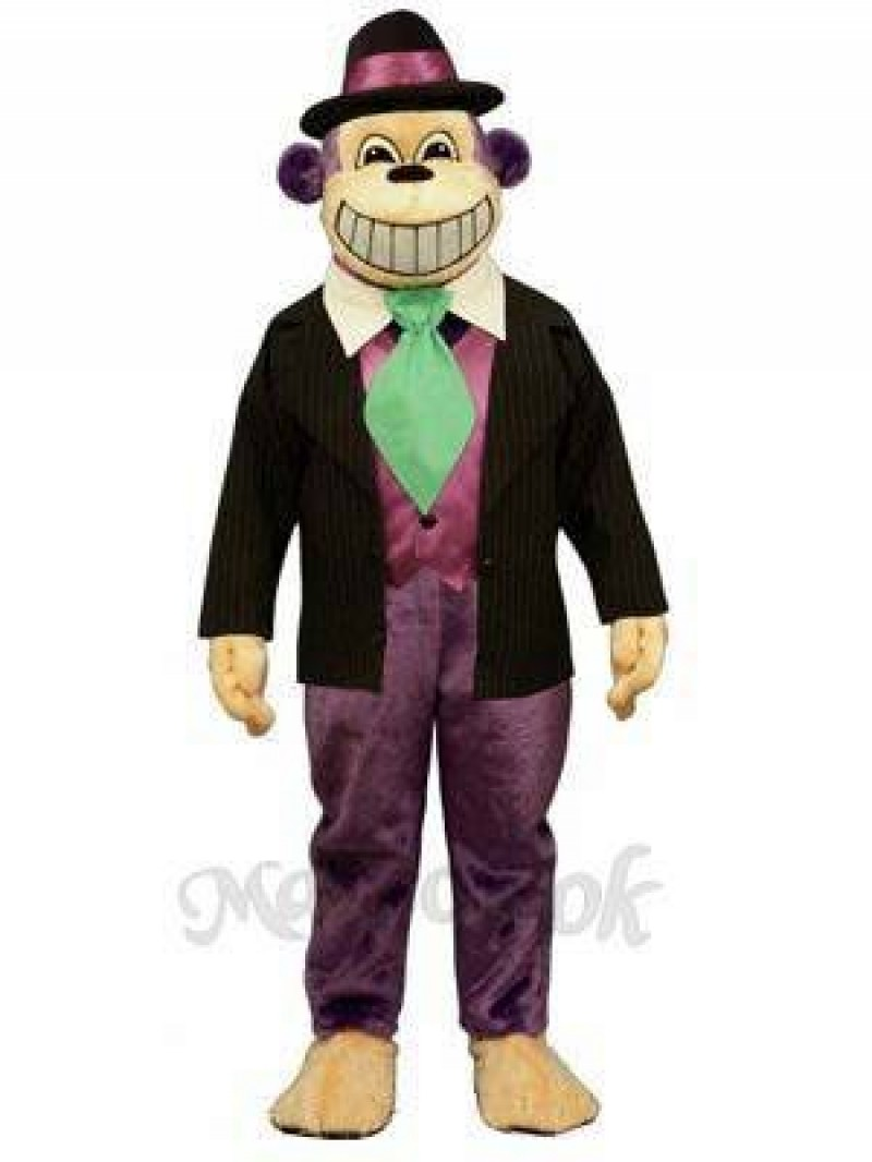 Monkey Dude Mascot Costume