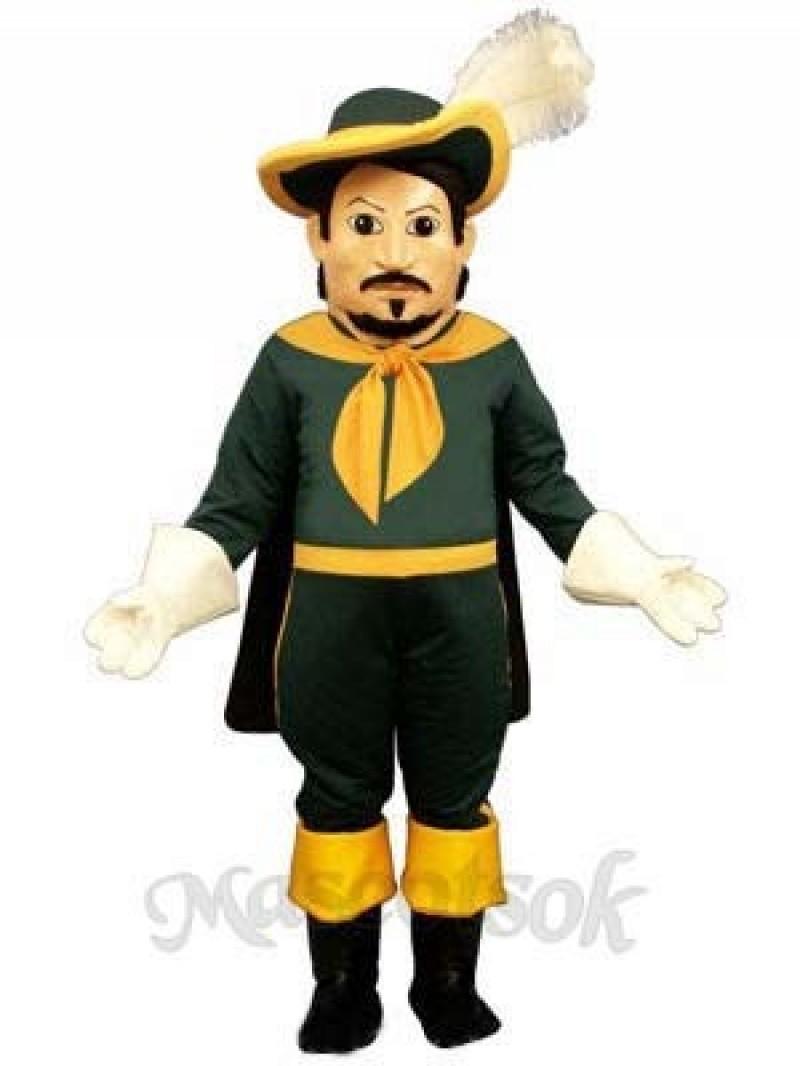 Calvin Cavalier Mascot Costume