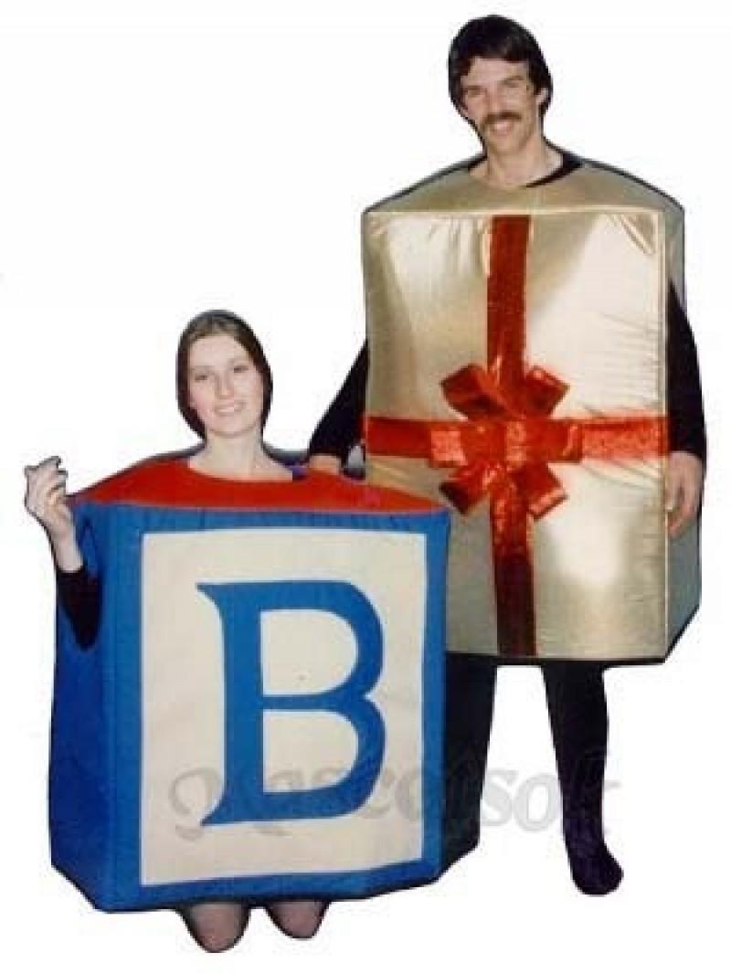 Alphabet Block Mascot Costume
