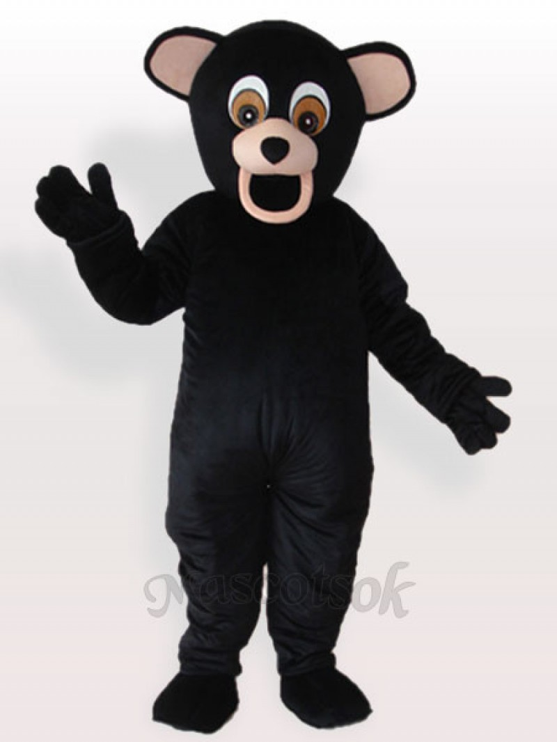 Black Bear Adult Mascot Costume