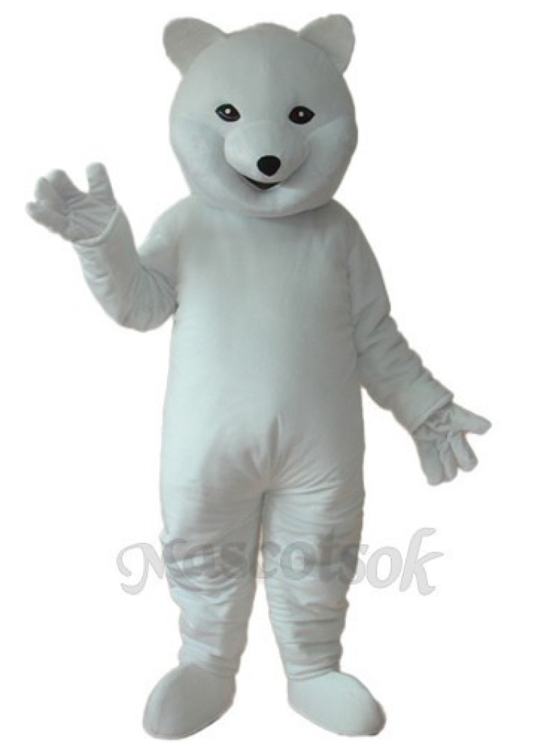 Polar Bear Mascot Adult Costume