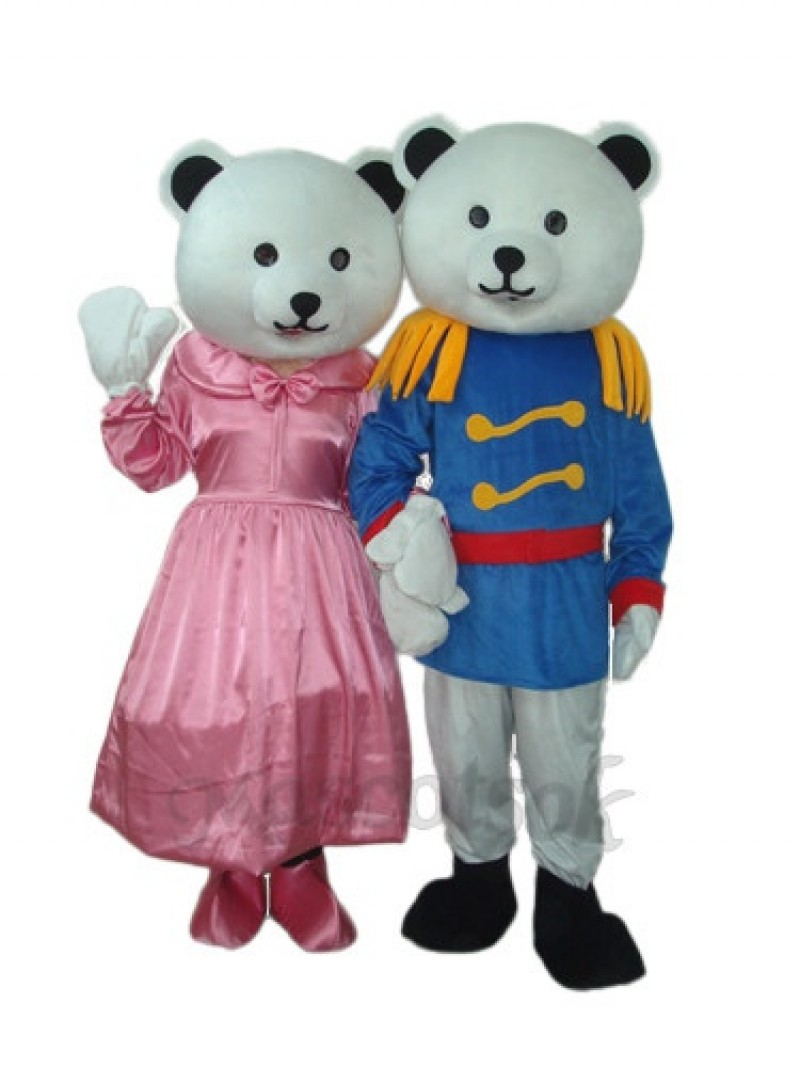 General Bear Mascot Adult Costume
