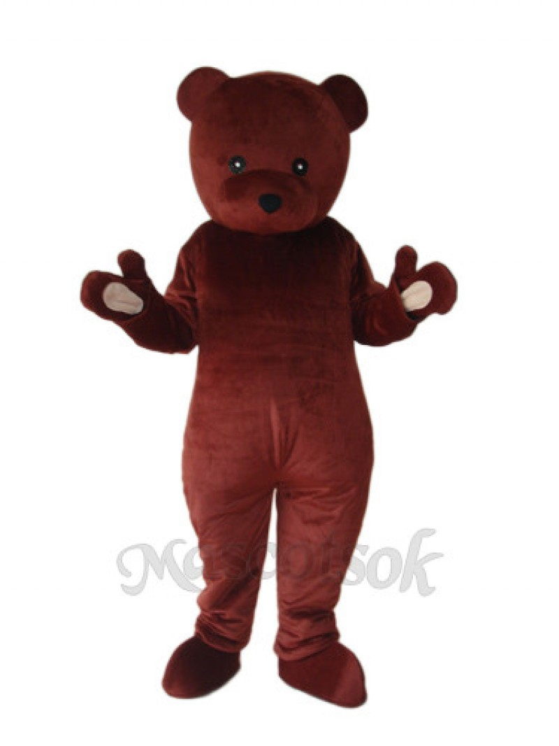 Cook Brown Bear Mascot Adult Costume