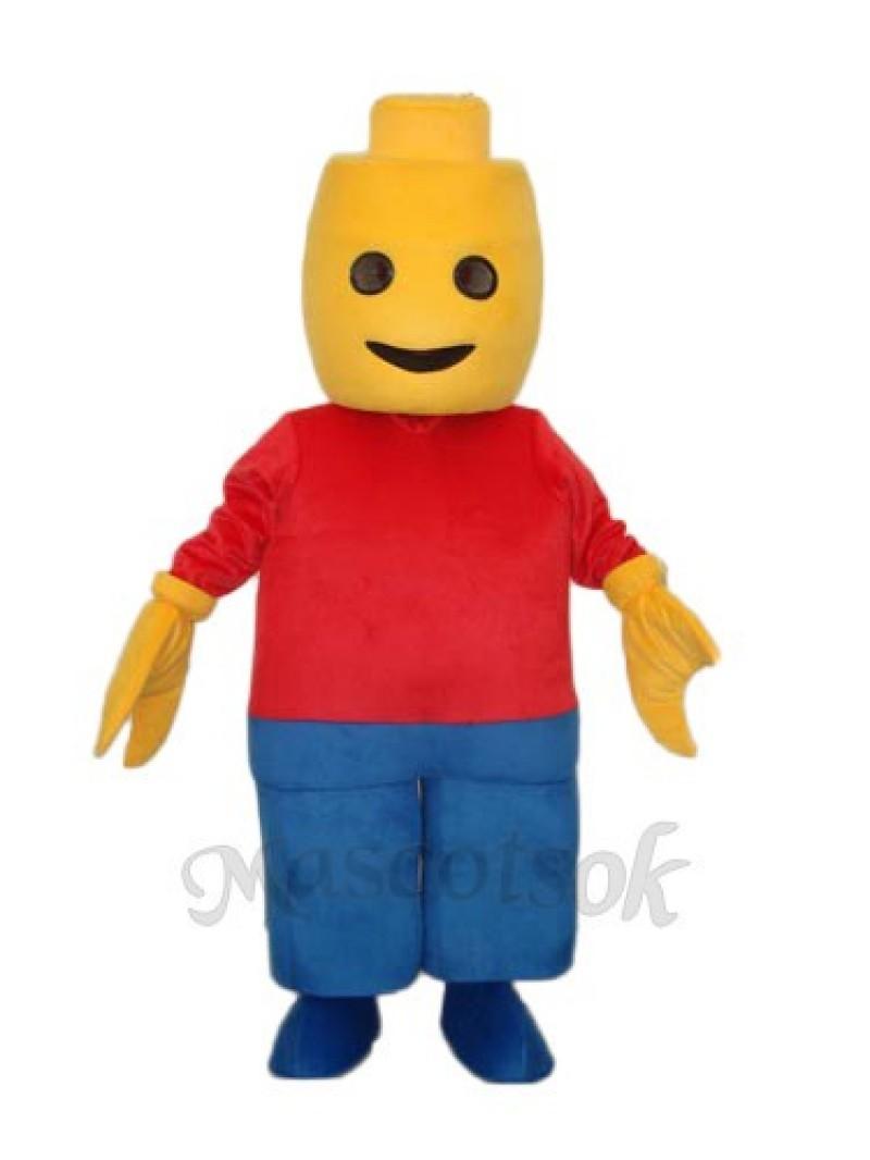Figs Boy Mascot Adult Costume