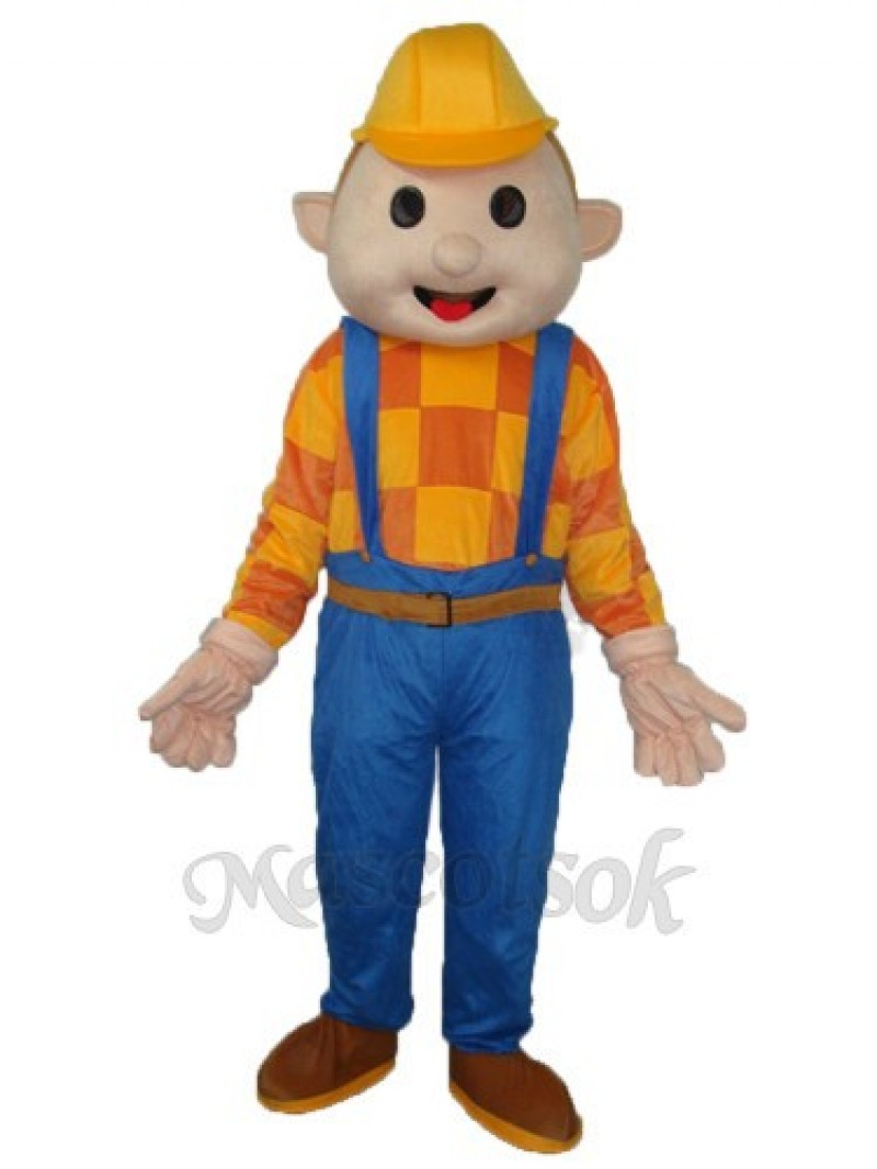 Bob the Builder Construction Workers Mascot Adult Costume
