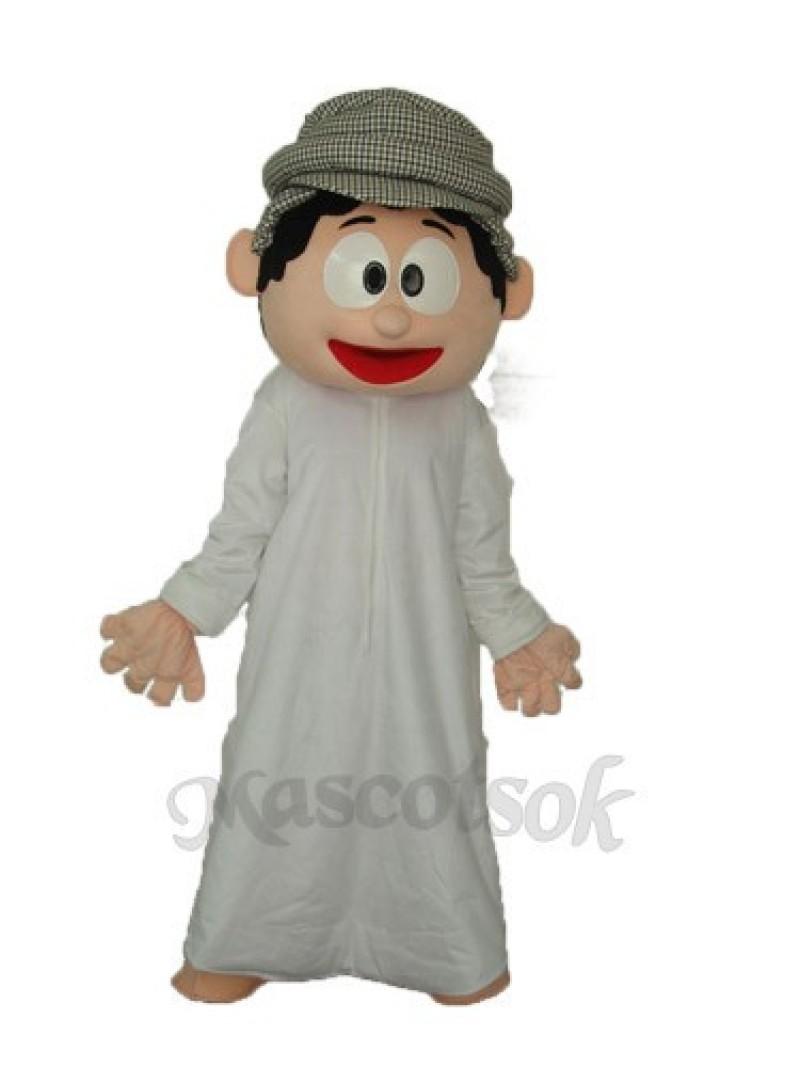 Arab Boy Mascot Adult Costume