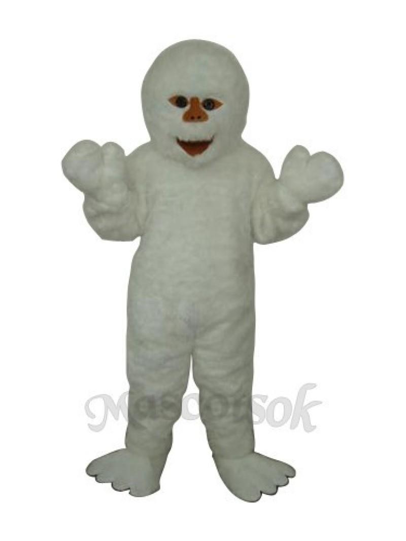 Himalaya Snowman Mascot Adult Costume