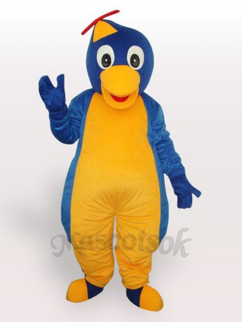 Blue Penguin Adult Mascot Costume