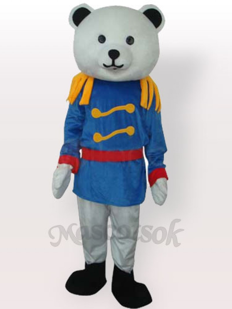 General Bear Husband Adult Mascot Costume