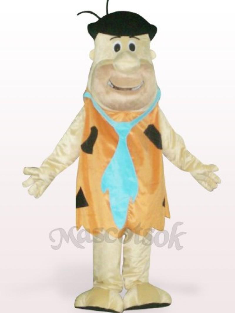 Soft Brown Savage Plush Adult Mascot Costume