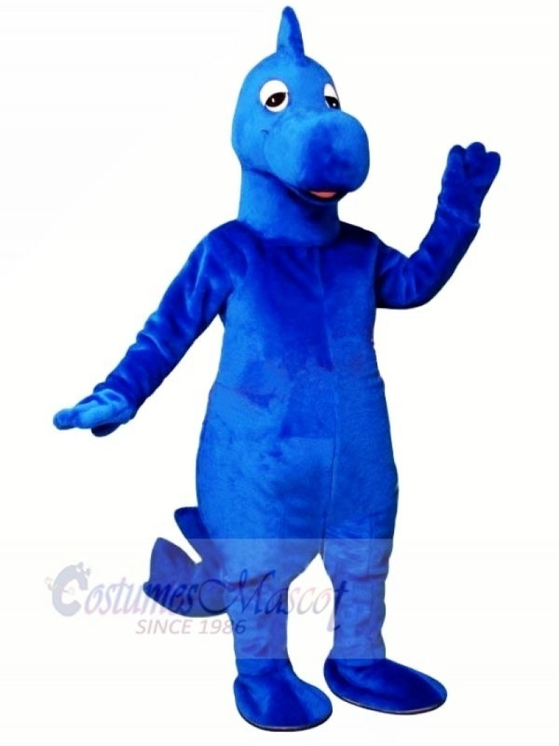 Dilly Blue Dinosaur Mascot Costumes Animal