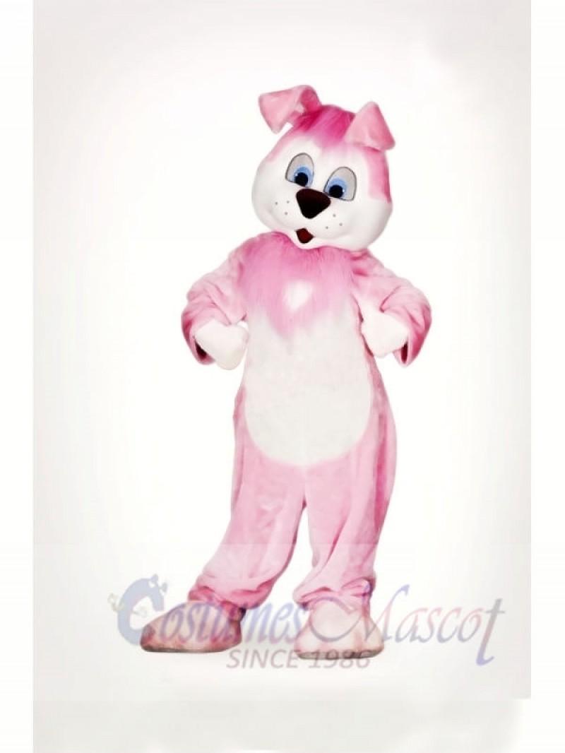 Cute Pink Rabbit Mascot Costumes Animal