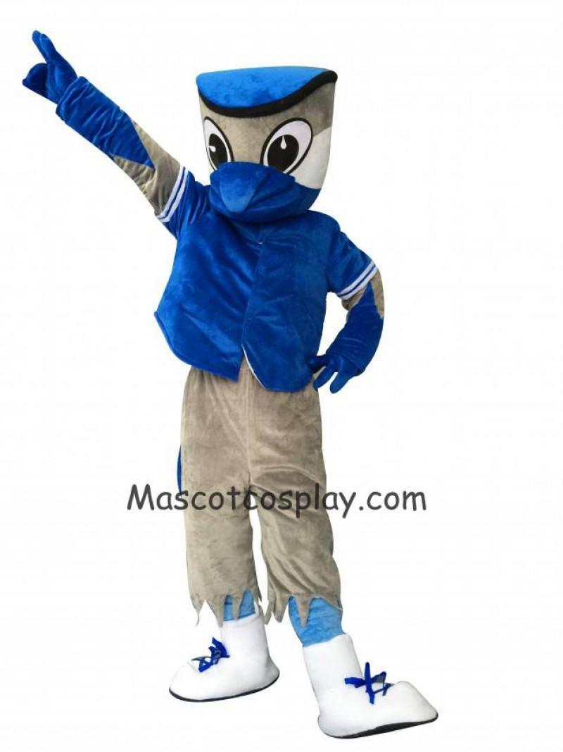 Blue Shirt Blue Jays Mascot Costume