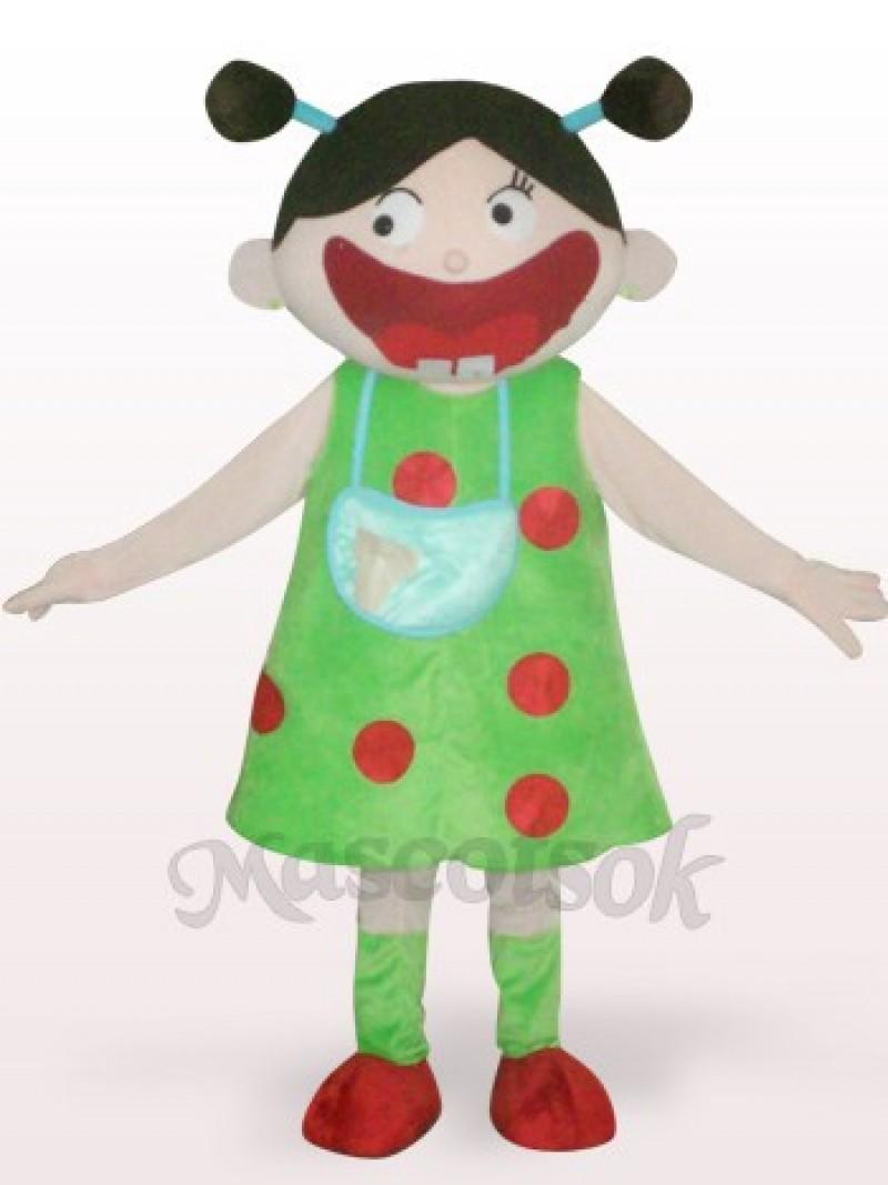 Arab Girl Plush Adult Mascot Costume