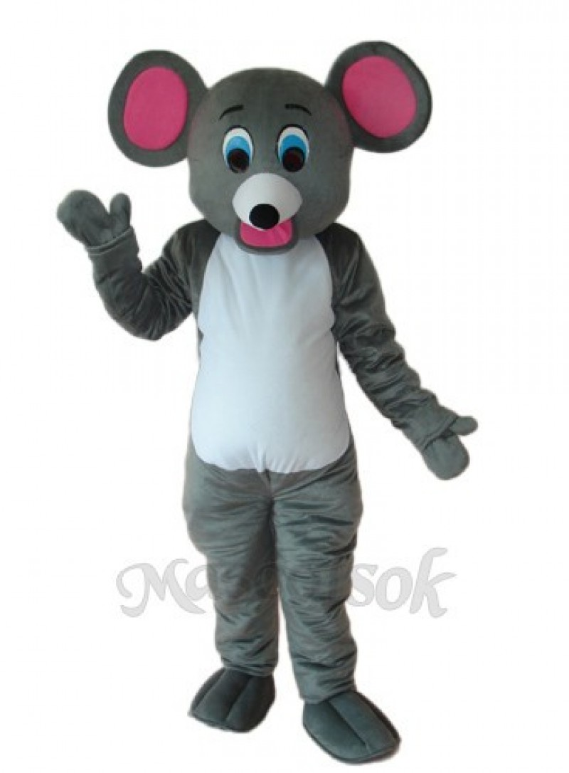 Little Grey Mouse Mascot Adult Costume