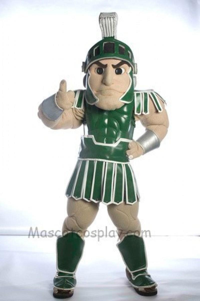 Spartan Trojan knight Sparty Mascot Costume Custom Fancy Costume Carnival Cosplay