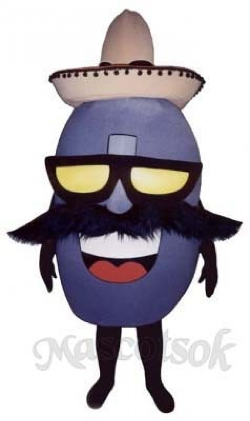 Mexican Jumping Bean Mascot Costume