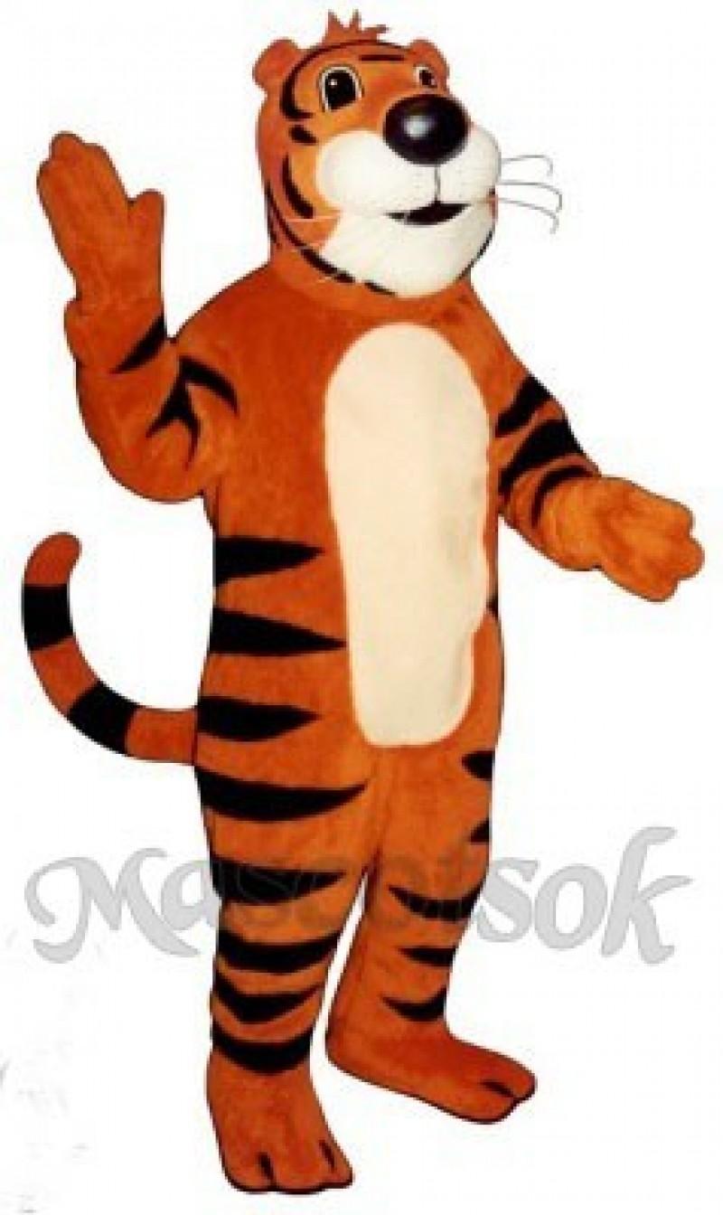 Cute Timmy Tiger Mascot Costume