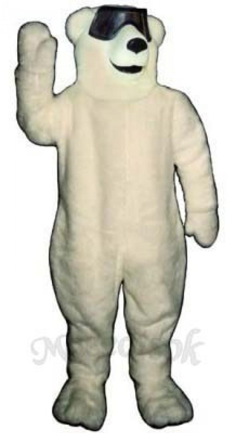 Party Polar Bear Mascot Costume