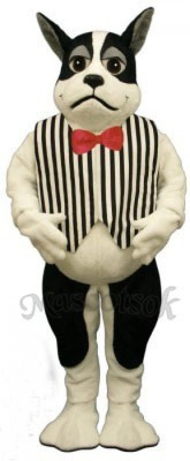 Cute Harrington Dog with Vest Mascot Costume