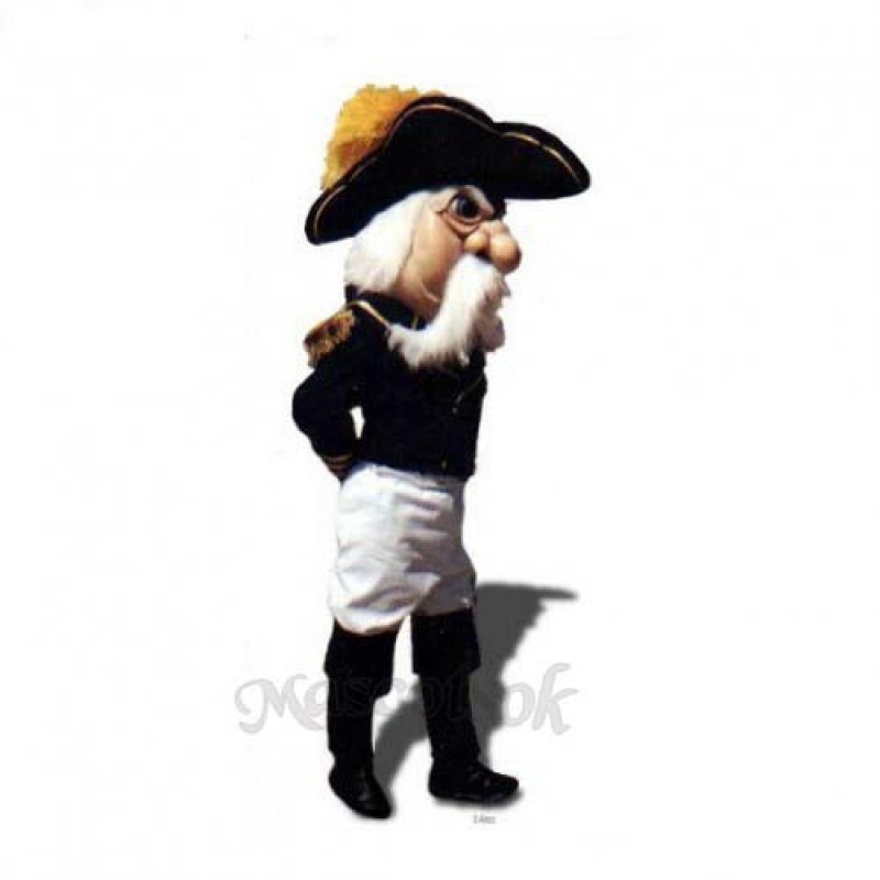 Admiral Mascot Costume