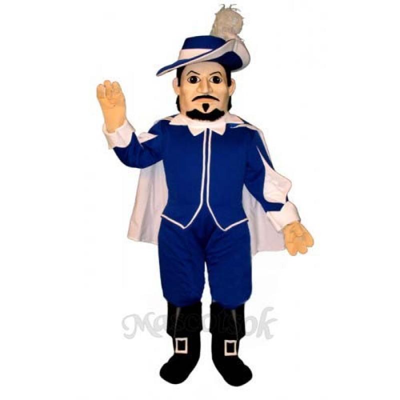 Spanish Captain Mascot Costume