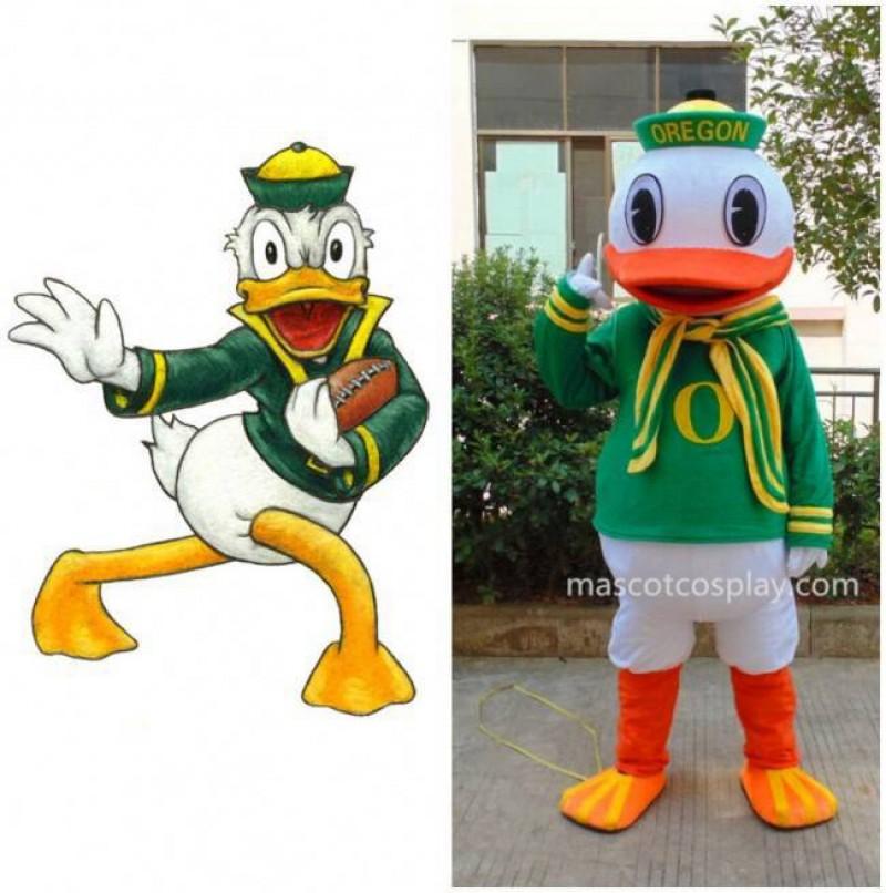 New Oregon Duck College Mascot Costume