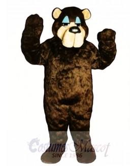 Cute Bramble Bear Mascot Costume