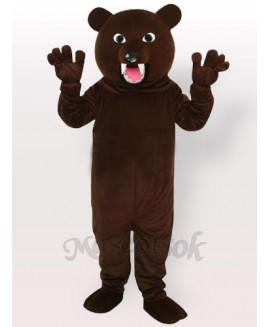 Grey Bear Adult Mascot Costume, Type A