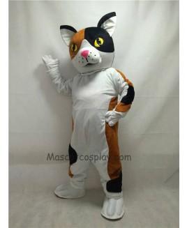 Cute New Calico Cat Mascot Costume