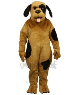 Cute Spotted Pooch Dog Mascot Costume