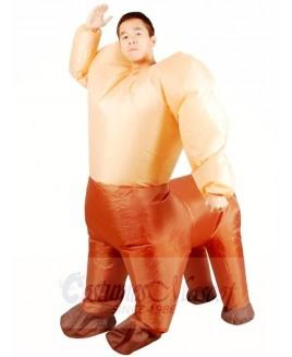 Centaur Half-man Half-horse Inflatable Halloween Christmas Holiday Costumes for Adults