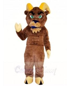 Brown Ram Mascot Costumes Animal