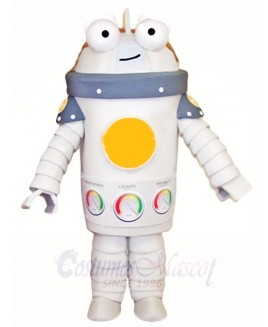 White Robert Mascot Costumes