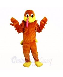 Lovely Turkey Mascot Costumes Cartoon