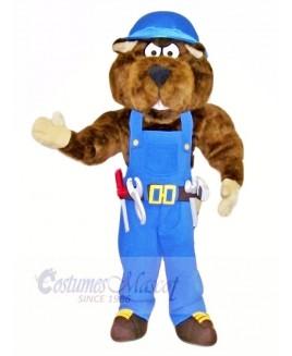 Industrial Gopher Mascot Costumes Cartoon