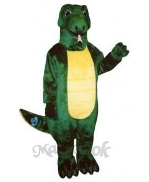 Leonard Lizard Mascot Costume