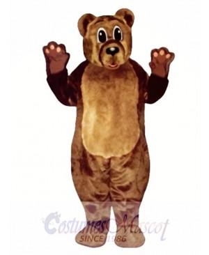 Baby Bear Christmas Mascot Costume