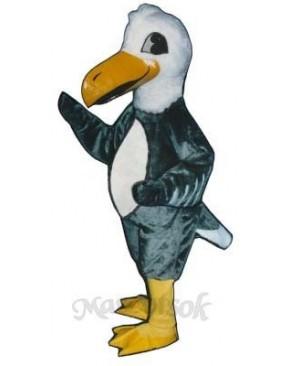Cute Albatross Gooney Bird Mascot Costume