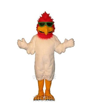 Cute Ballistic Bird Mascot Costume
