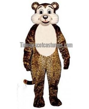 Cute Baby Leopard Mascot Costume