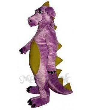 Purple Whimsical Dragon Mascot Costume
