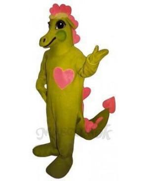 Dragonheart Mascot Costume