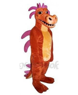 Duncan Dragon Mascot Costume