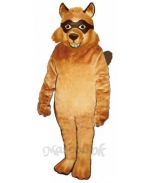 Bandit Mascot Costume