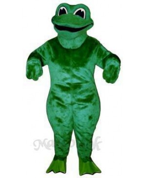 Croaking Frog Mascot Costume