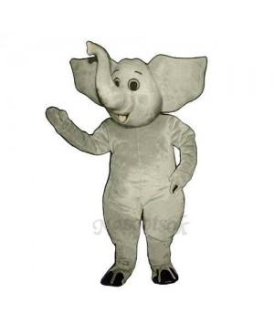Eddie Elephant Mascot Costume